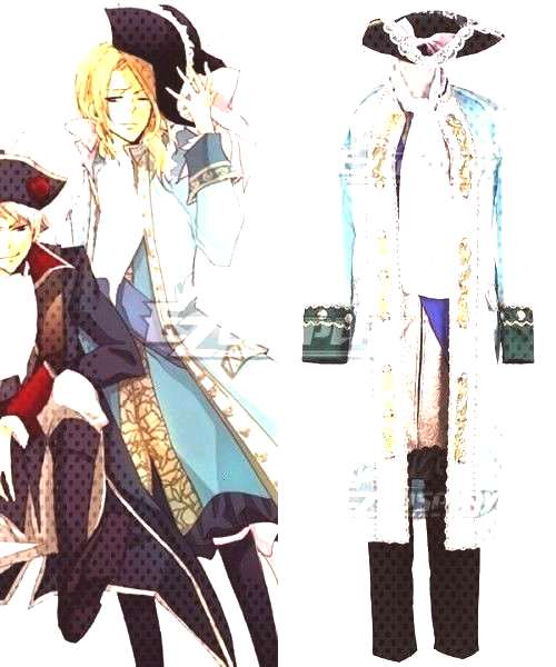 Axis Powers Hetalia France Francis Bonnefeuille Cosplay CostumeYou can find Hetalia and more on
