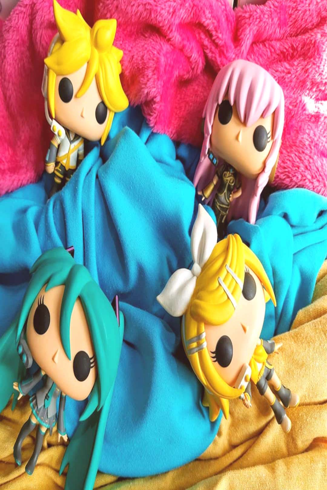 . Funko Pops Vocaloid, Crypton. . . . #vocaloid #anime #colors #c