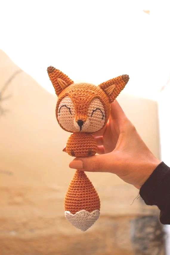 : Tail the Chibi Fox - Hkelanleitung Amigurumi-Anleitung Cotton Tail the Chibi Fox Hkelanleitung Am