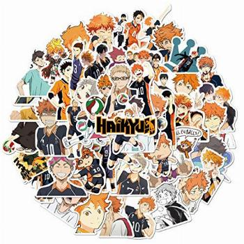 Anime Haikyuu!! Stickers (50 PCS) Funny Stickers for Teens,
