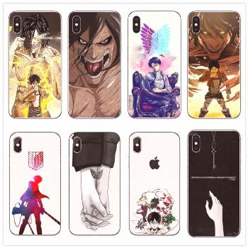 Attack on Titan Soft silicone Case Cover for iPhone for only $9.99 & FREE Shipping Repin to your Bo