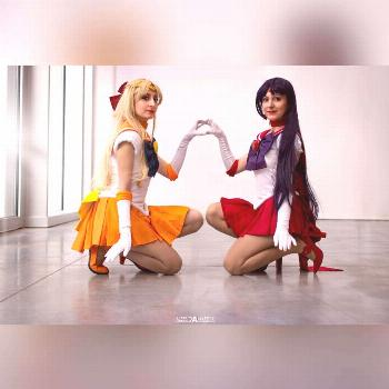 Buon 25esimo compleanno Sailor Moon!!!!! Sailor Venus Sailor Mars
