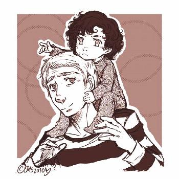 chibi sherlock bei Tumblr  - Adorable! -