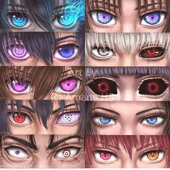 Choose the best eyes!