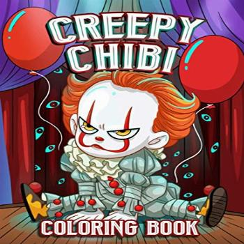 Creepy Chibi Coloring Book: An Awesome Coloring Book Giving