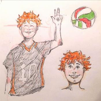 I've been drawing a lot of Haikyuu!! recently because I'm so excited for season 4!!! - - - - -
