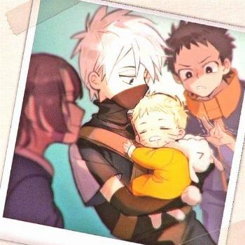 Kakashi, Obito, Rin, and baby Naruto - Obito, Rin, and baby Naruto – Informations About Kakashi,