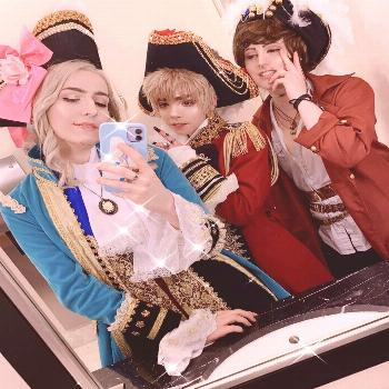 Katsu was such a time and being these gay old men with these two