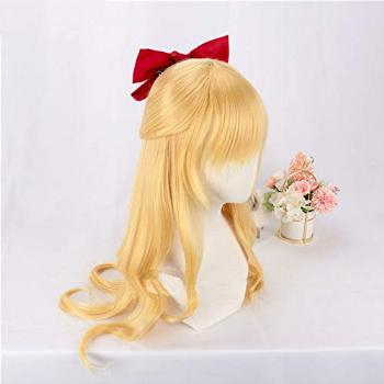 Long Straight Heat Resistant Fiber Anime Styled Styling