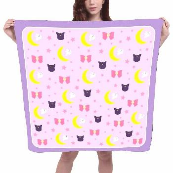 Magic girl enthusiast, these adorable #scarf inspired by 2 of the