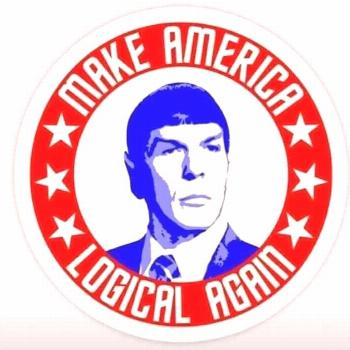 Make America Logical Again, with Spock -  Make America Logical Again, with Spock  -