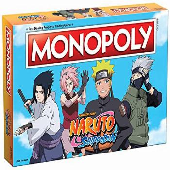 Monopoly Naruto | Collectible Monopoly Game Featuring