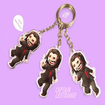 My Chibi Keanu Reeves keychains are ready to go!! Link in bio or