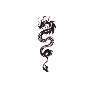 Naruto Tattoo design by AlishaArt liked on Polyvore featuring accessories an