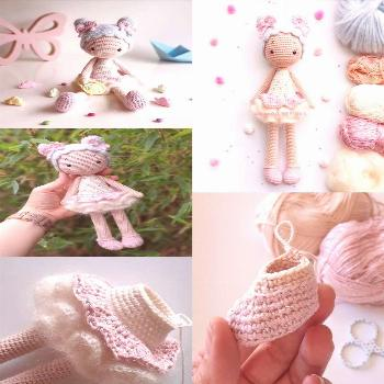 Newest Pictures amigurumi doll chibi Thoughts  Amigurumi Doll pattern Candy Girl...  Newest Picture