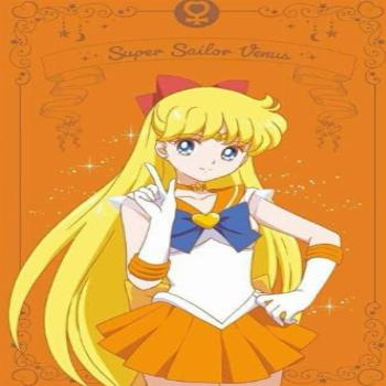 Sailor Moon Anime sailor Venus notebook 6x9 120 lined pages