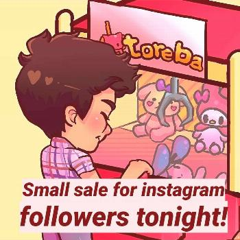 Sale for yall tonight, will be invalid tomorrow at noon! Feel fre