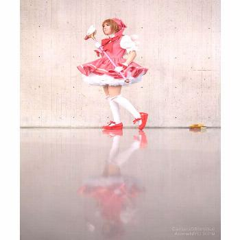 Some more magical shots. Sakura Kinomoto from Cardcaptor Sakura P