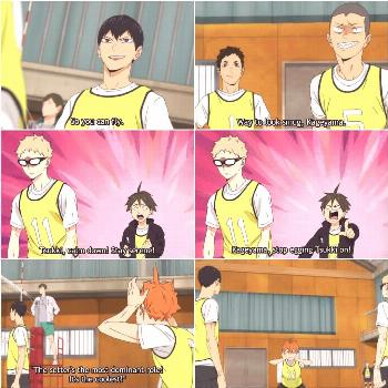 THE 4TH PIC Anime: Haikyuu!! To the Top (Episode 7) - - Source: G
