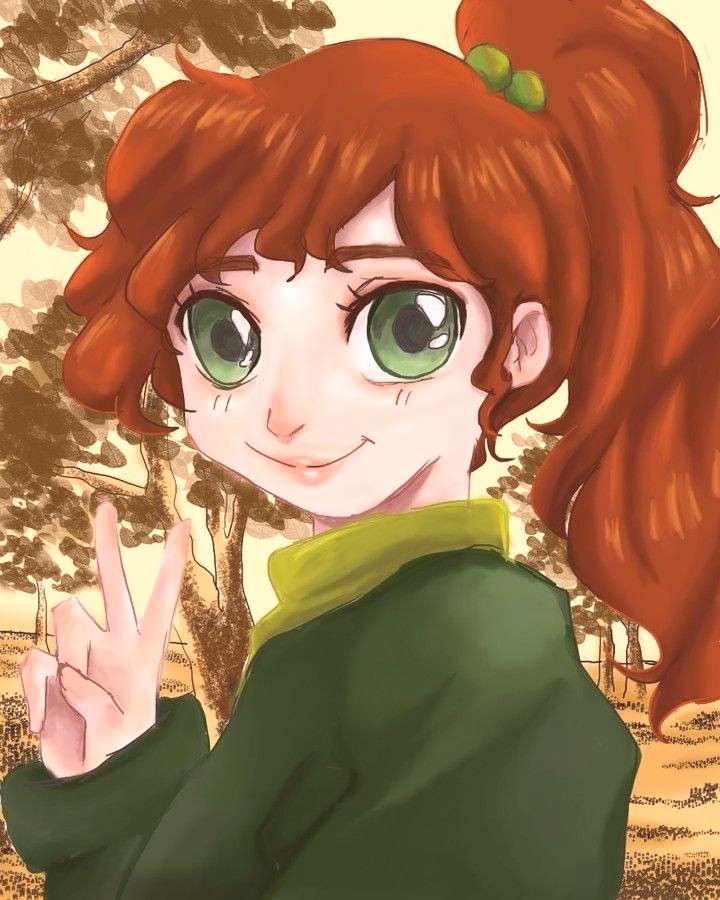 A cute autumn-ish Sailor Jupiter. I like all of the sailor scouts, dont get me wrong, but Ive alwa