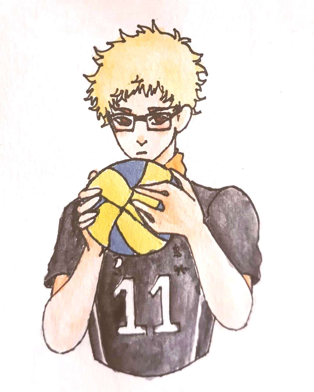 Another request done! It's my first time actually drawing a haikyuu character owo
