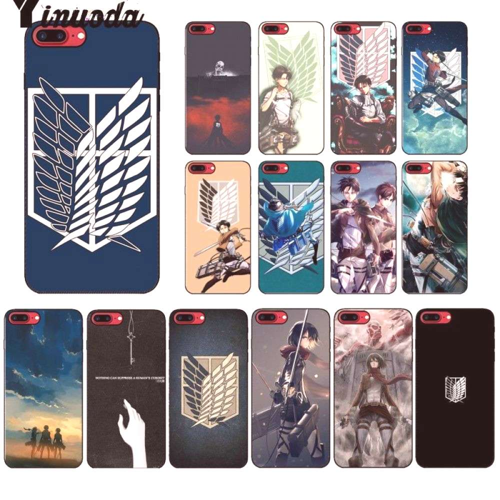 Attack on Titan Cover Case for Apple iPhone for only $9.99 & FREE Shipping Repin to your Boards....