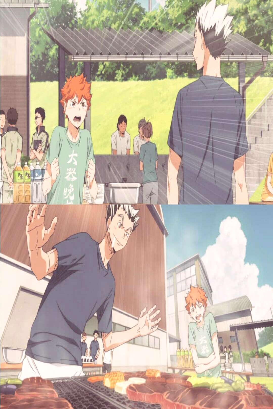 Barbeque BBQ Anime : Haikyuu S2 #recommendations #anime #animesce