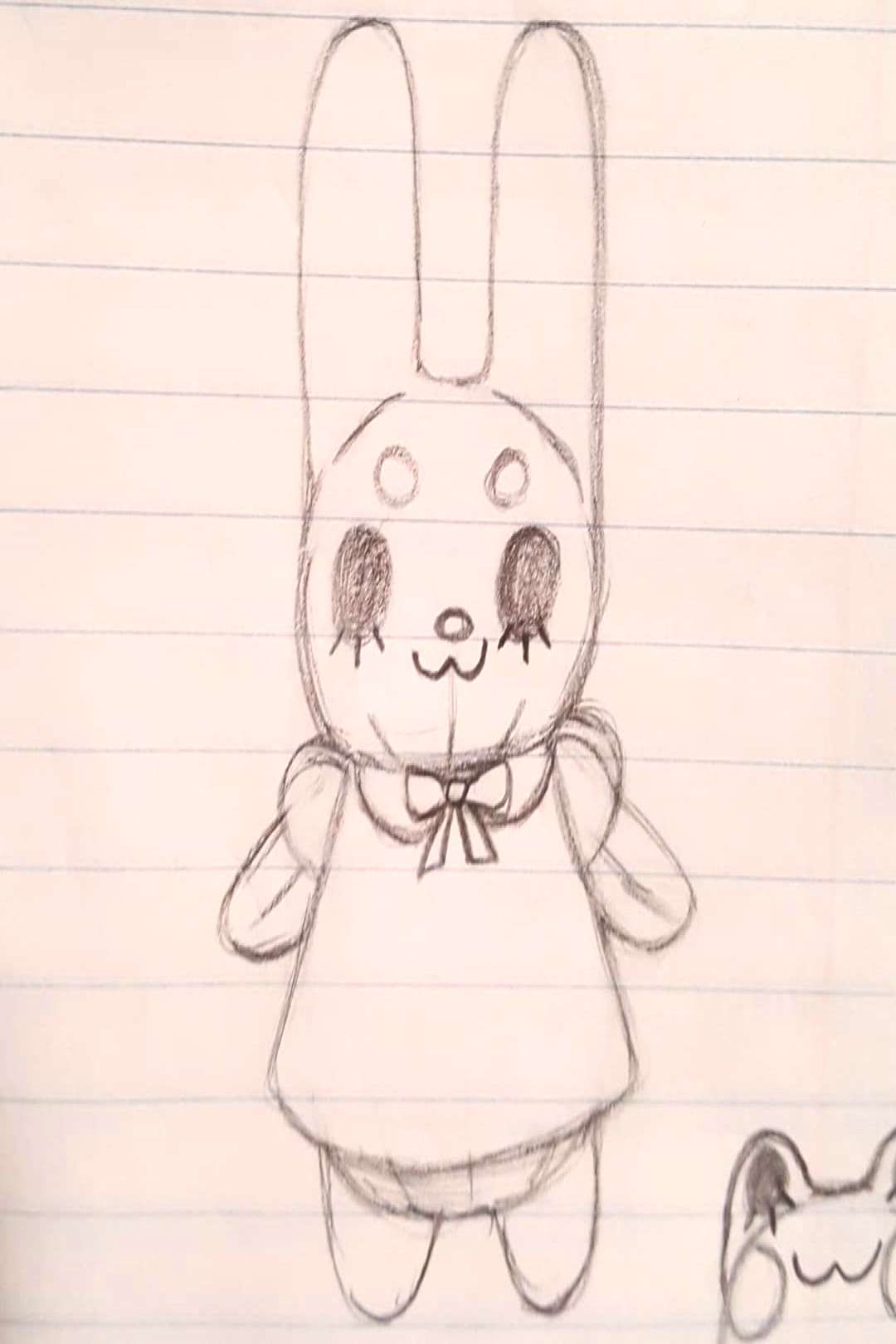Busy day all I had time to sketch out was some cute lil plushy gu