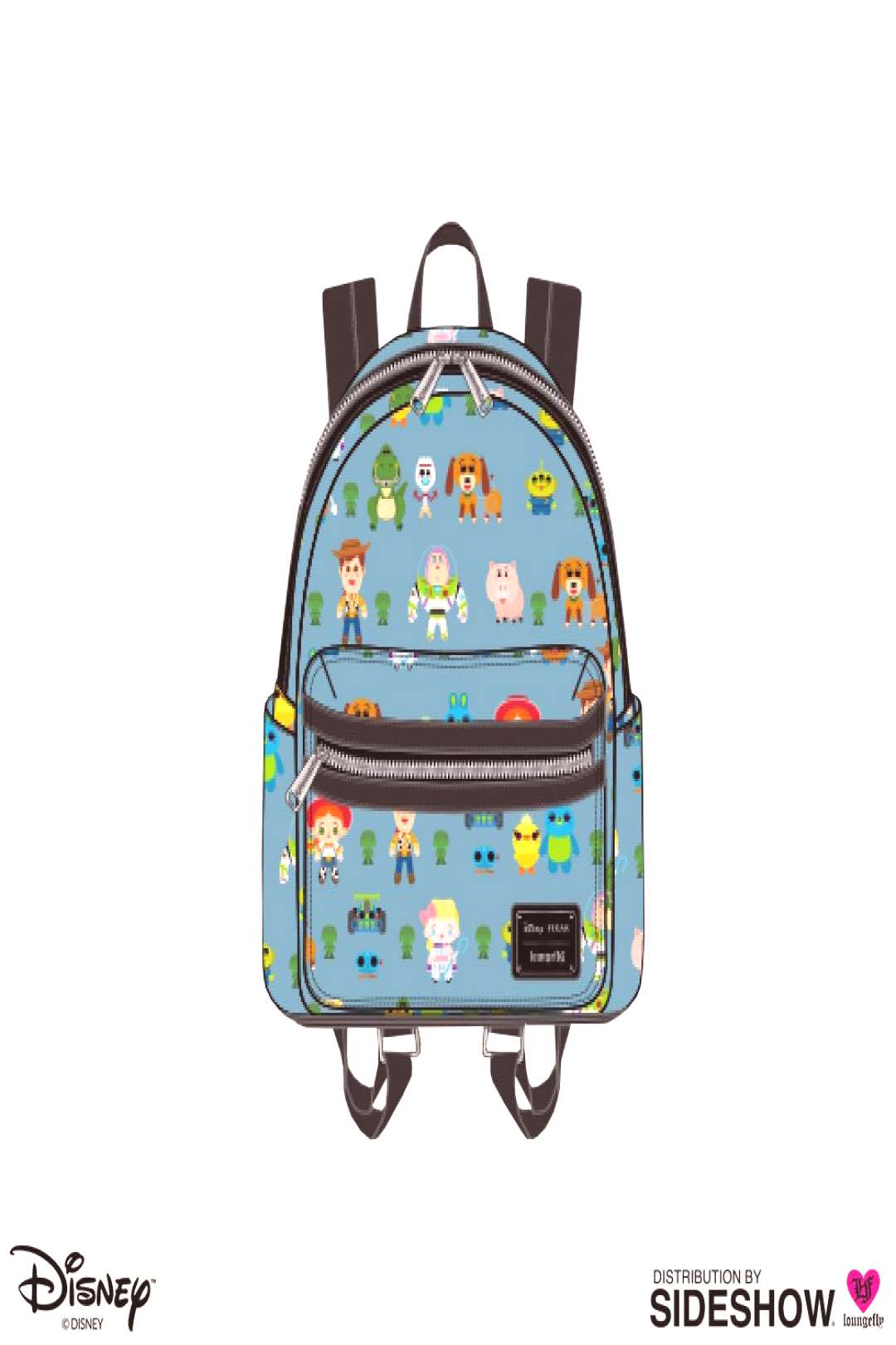 Disney Toy Story Chibi Print Mini Backpack by Loungefly