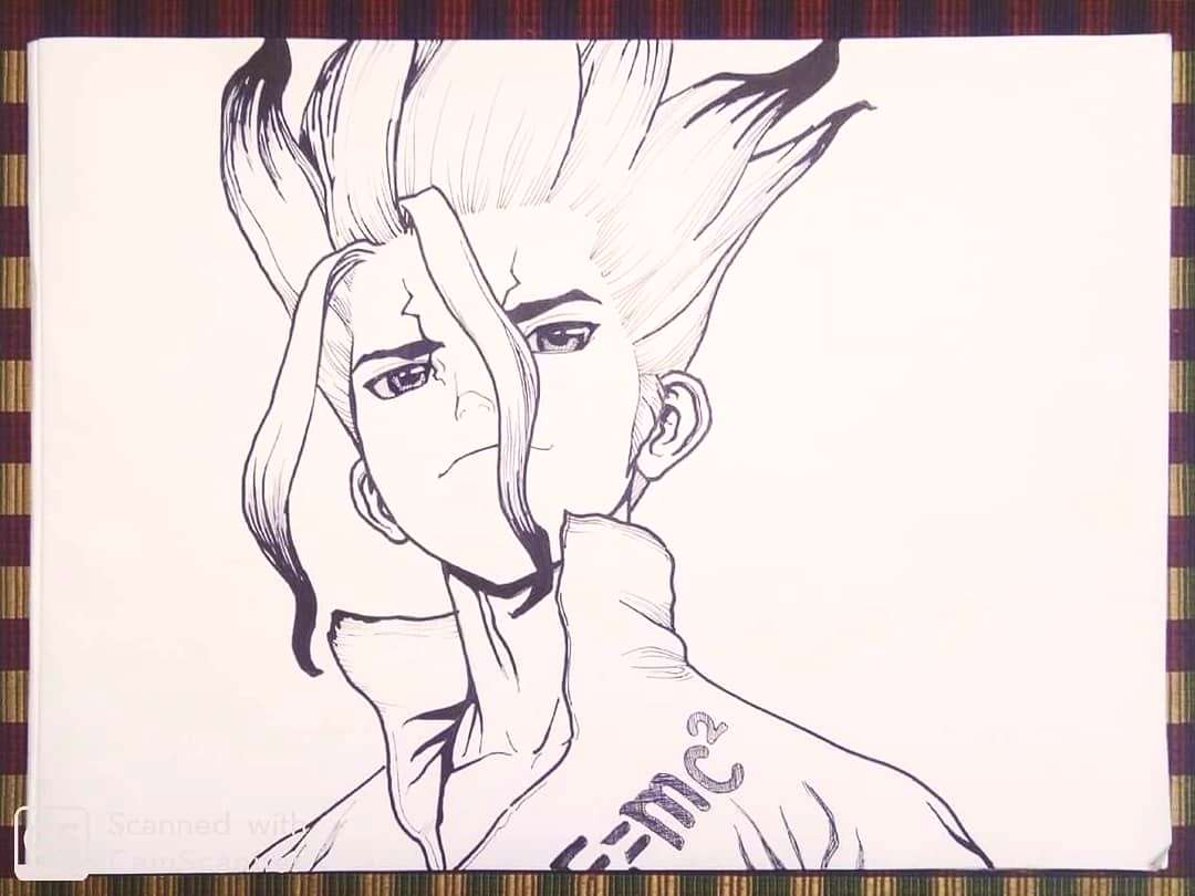 DR STONE sketch complete . . . . . . . . .