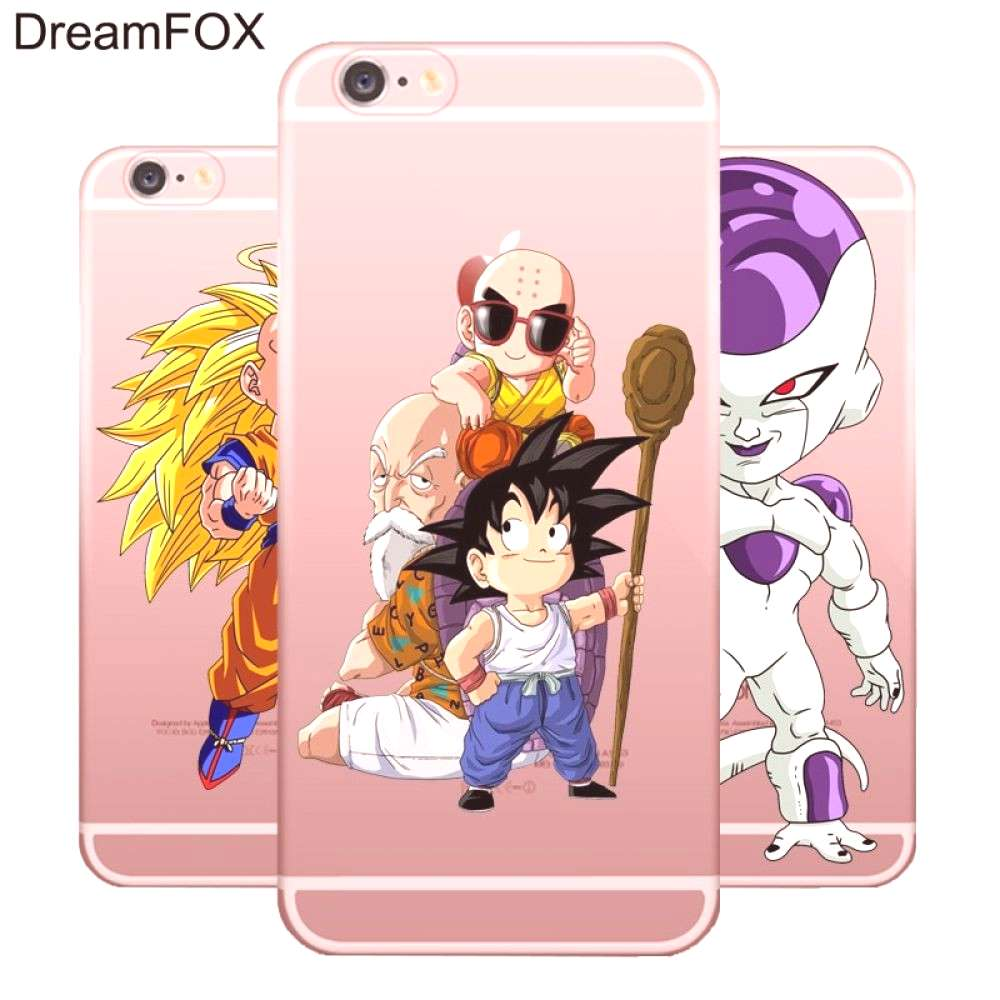 Dragon Ball Goku Soft TPU Silicone Case Cover iPhone Models for only $9.99 & FREE Shipping Repin to