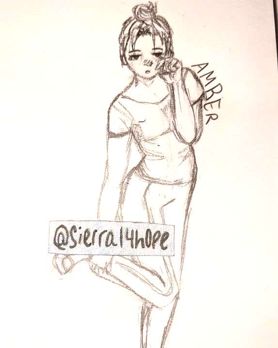 Drawing in class. Again my classmates named her  - - - - - #art Drawing in class. Again my classmat