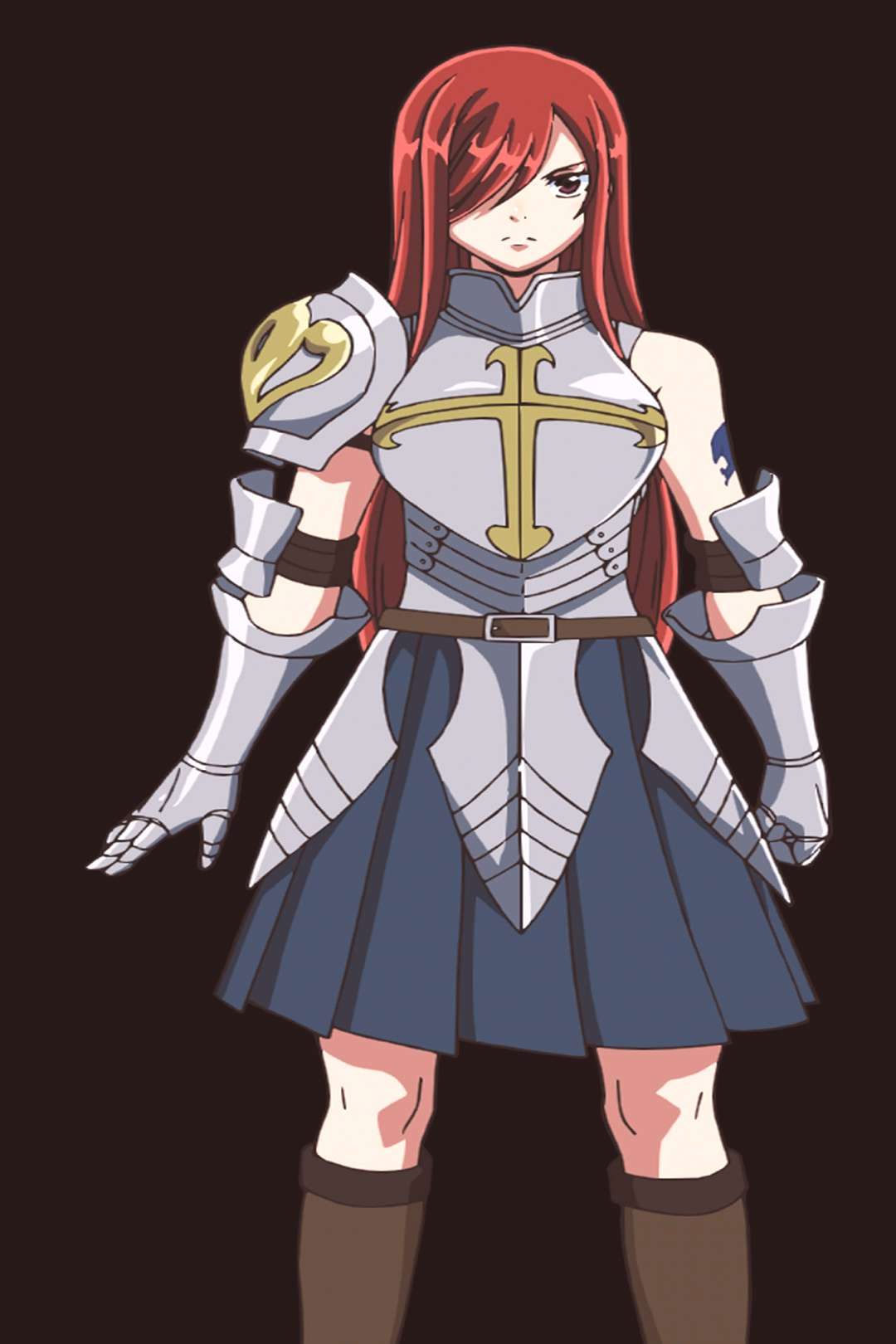 Erza from the new movie Dragon Cry!