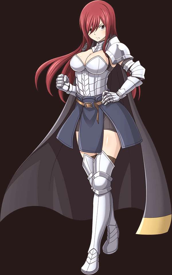 Erza Scarlet by LordCamelot2018 on DeviantArt