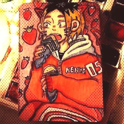 for an artist trading card swap with maj...You can find Haikyuu and more on ou...Kenma for an artis