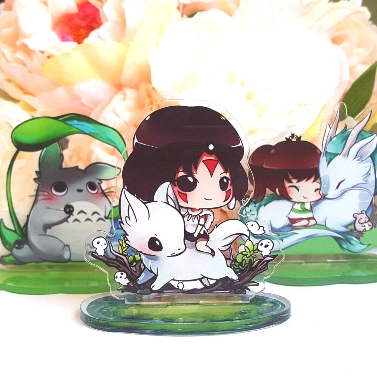 Ghibli Standees  Weishi Art on Etsy  See our or Ghibli tags -Studio Ghibli Standees  Weishi Art on