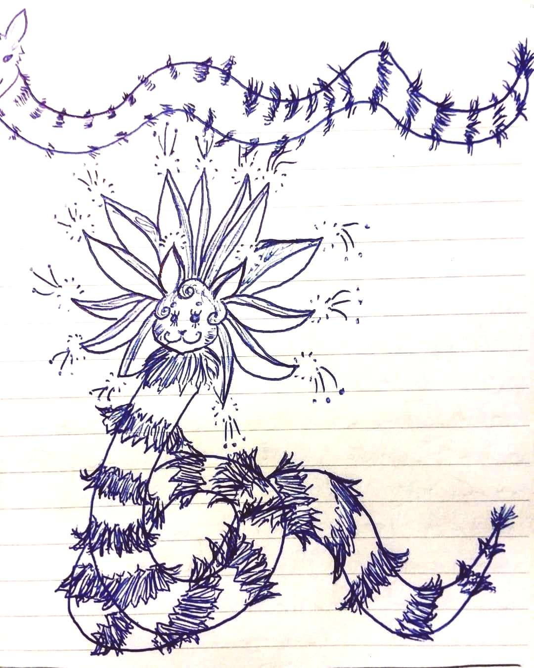 guys like doodles? Ive been doing a lot of them at my recent job. Here's one I found of my renditio