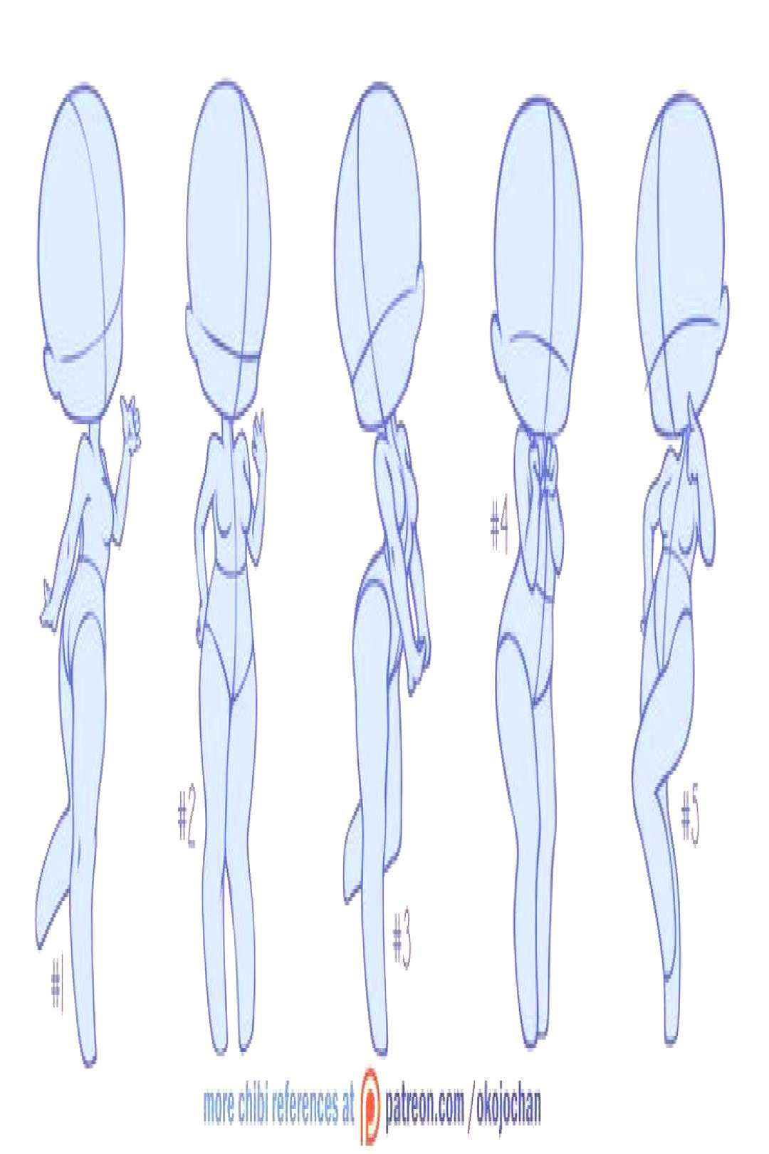 hand reference chibi Drawings - -