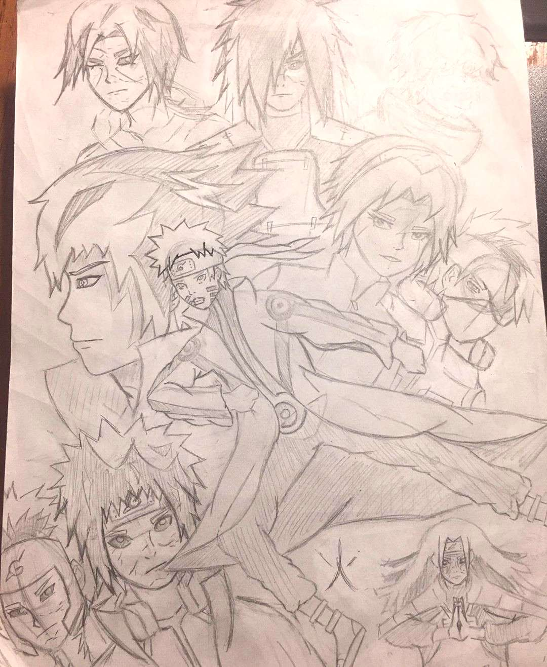 Happy New Years Children! This is the second WIP if my Naruto Drawing :D