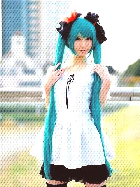 Hatsune Miku Cosplay Costume Vocaloid Hatsune Miku Cosplay Costume   Free Shipping & 30 days Easy R