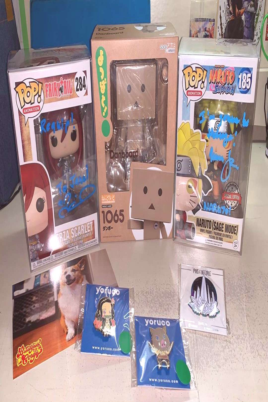 Here's my haul from Day 1 of Lvl Up Expo Meeting the voice actors