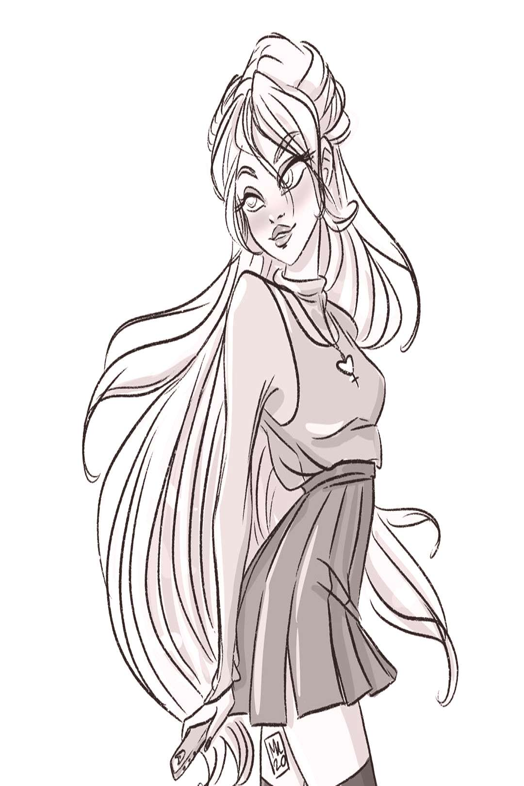 Hey it's Friday so here's a quick and cute Sailor Venus because (