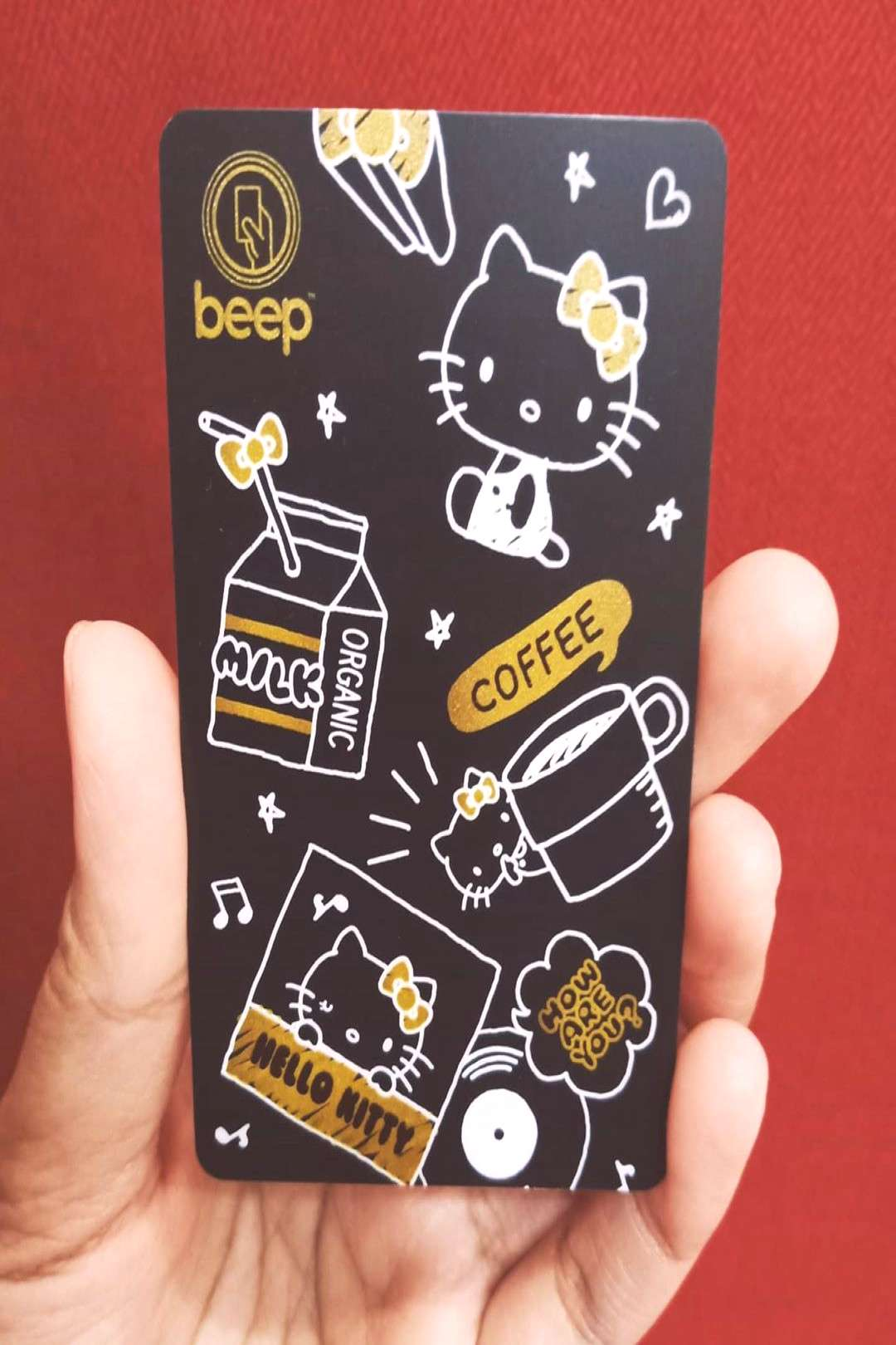 How #kawaii !!!!! This is the limited edition #black and #gold #b