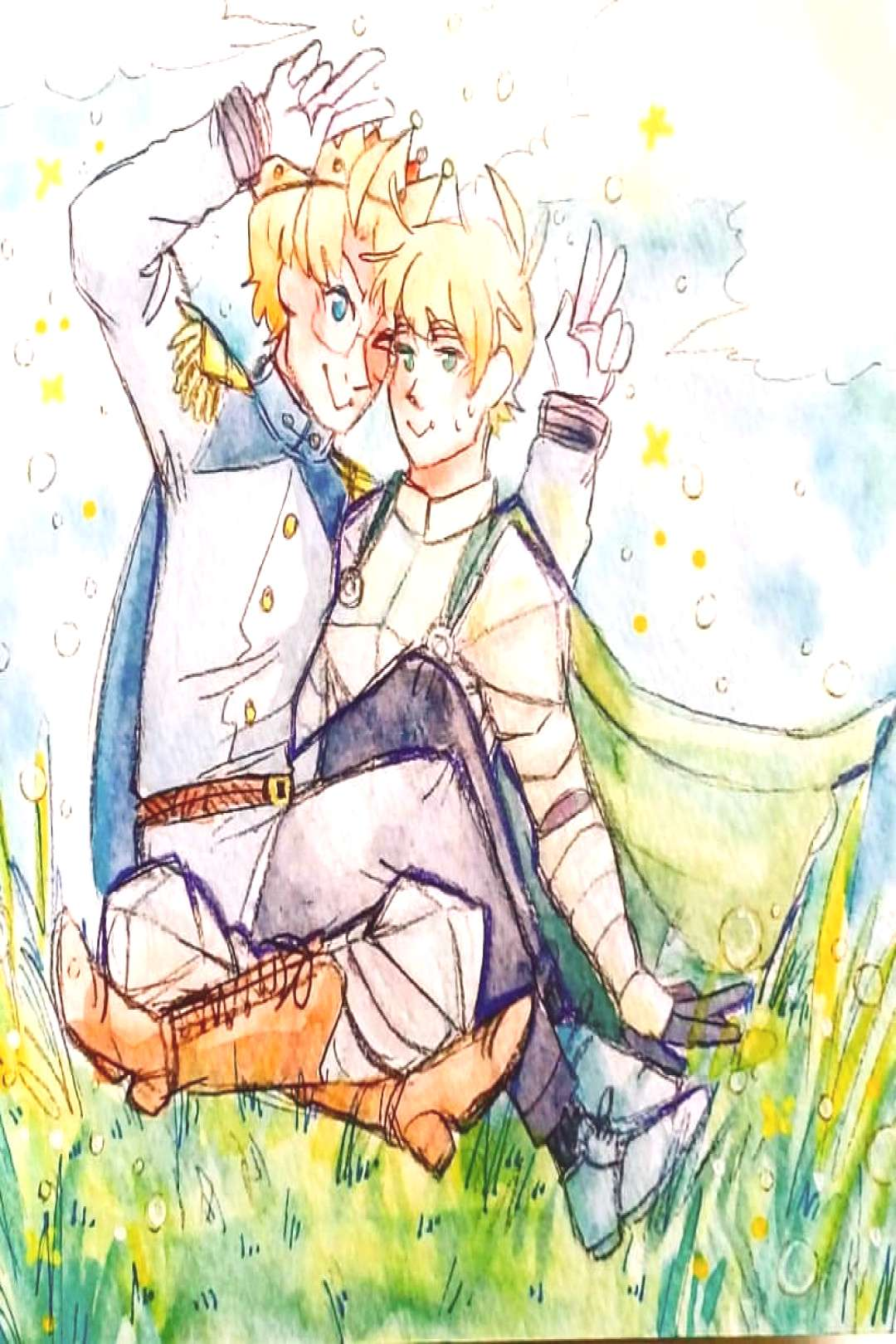 I want a tournament arc but it's just jousting?? Jousting looks r