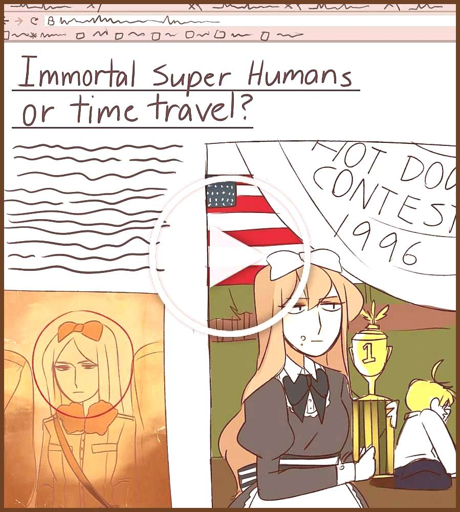 Imagine that there are people in the hetalia universe who are conspiracy theorists and have all of
