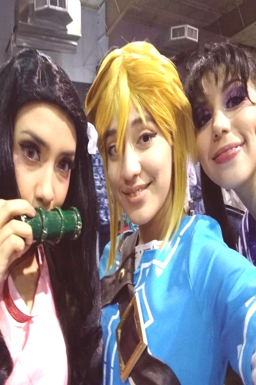 In the convention!!! #cosplay #cosmaker #animeconvention #animeco
