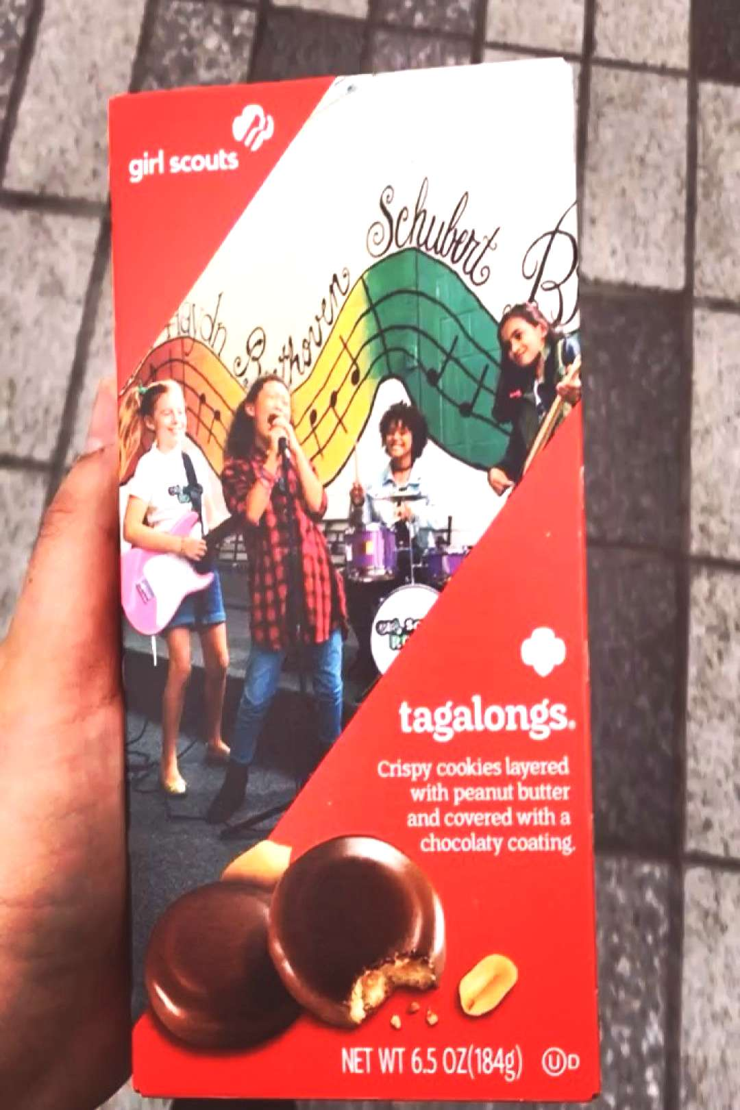 just hit up my dealer and all she had was #girlscoutcookies #gsc