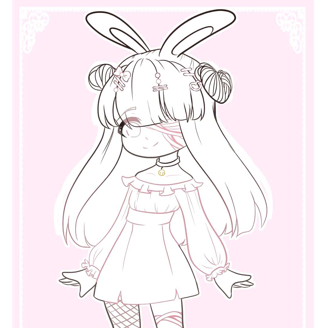 Linearts for some comms for @/asaiyumii uwu × ✘Basic Info✘ ΞCanvas size: 4500×7000 PX ΞProg