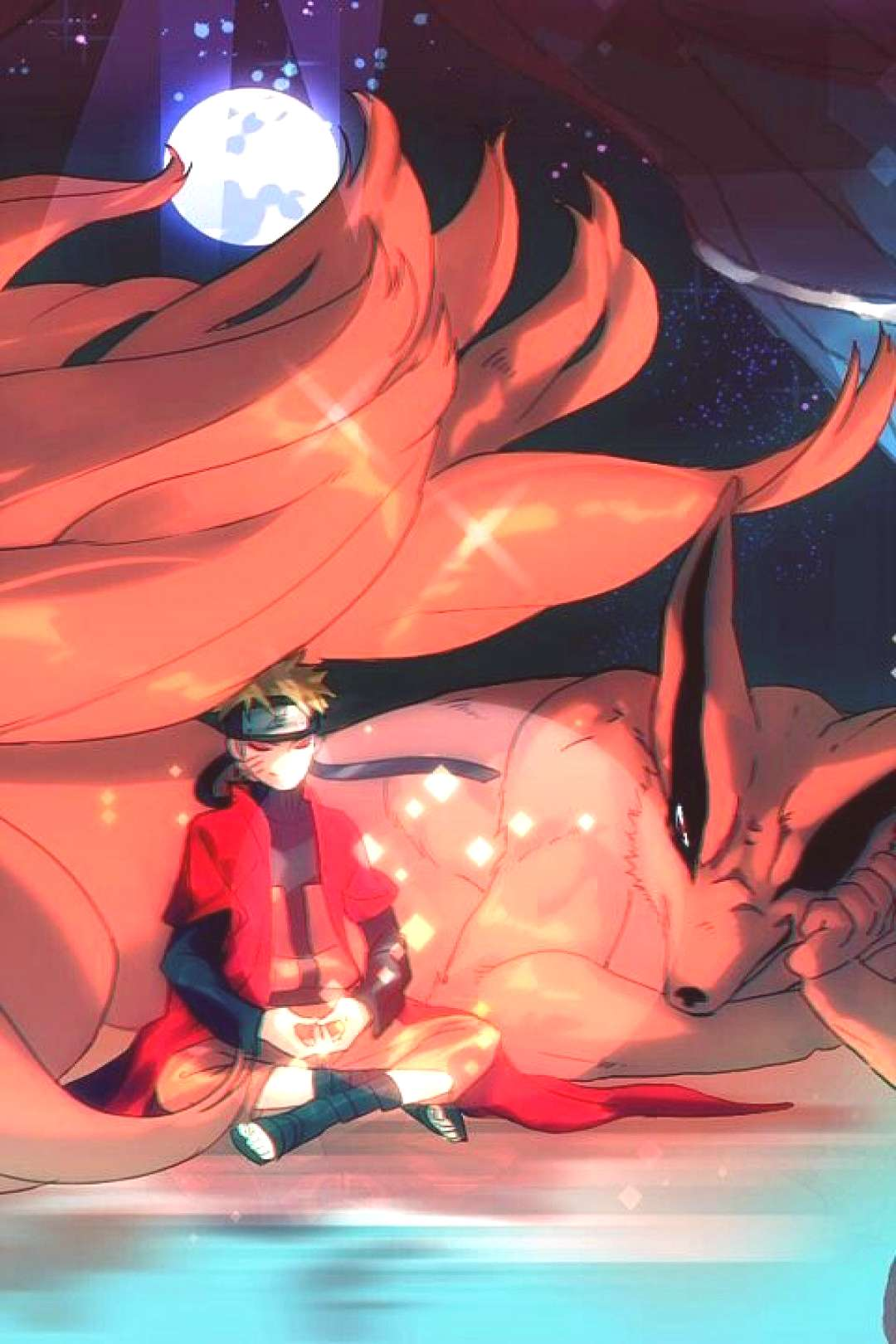 Love his demon The 9 tallied Fox i have no idea if i spelled