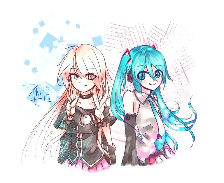 Miku made me come, IA made me stay, never thought Id say this in years but some Vocaloid songs are